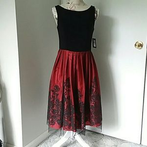 ea76ad47d0466 RH Evening Dresses | Jh Black And Red Party Dress Size 6 Nwt | Poshmark